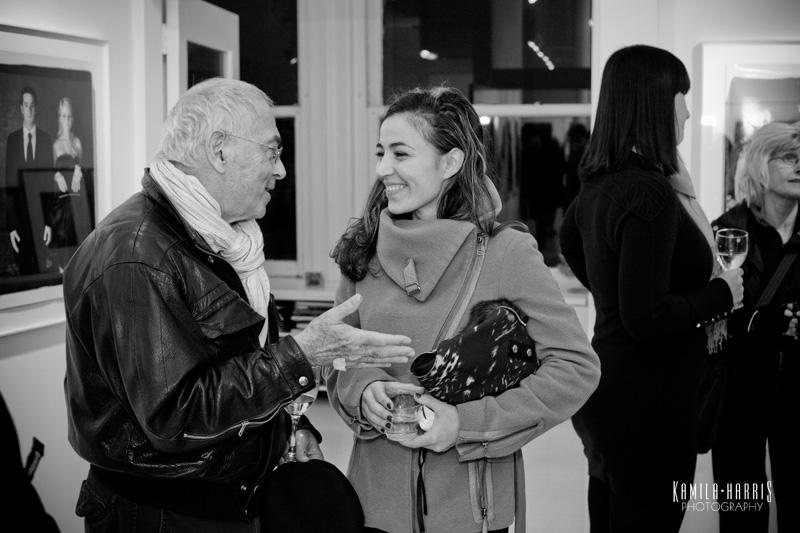 Raphael Shammaa and Josephine Bono