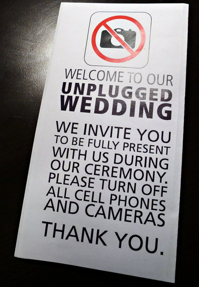 UnpluggedWedding