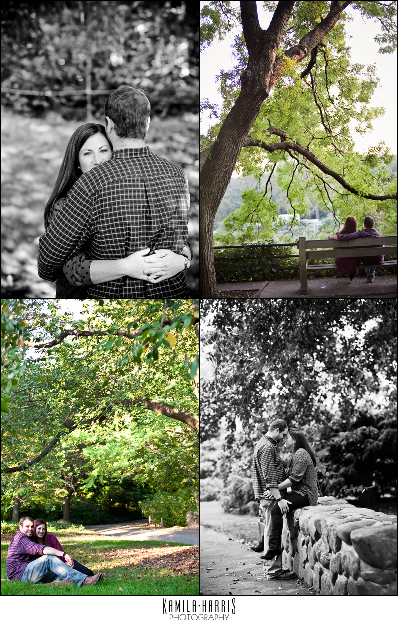 Brooklyn Botanic Garden Engagement Photography