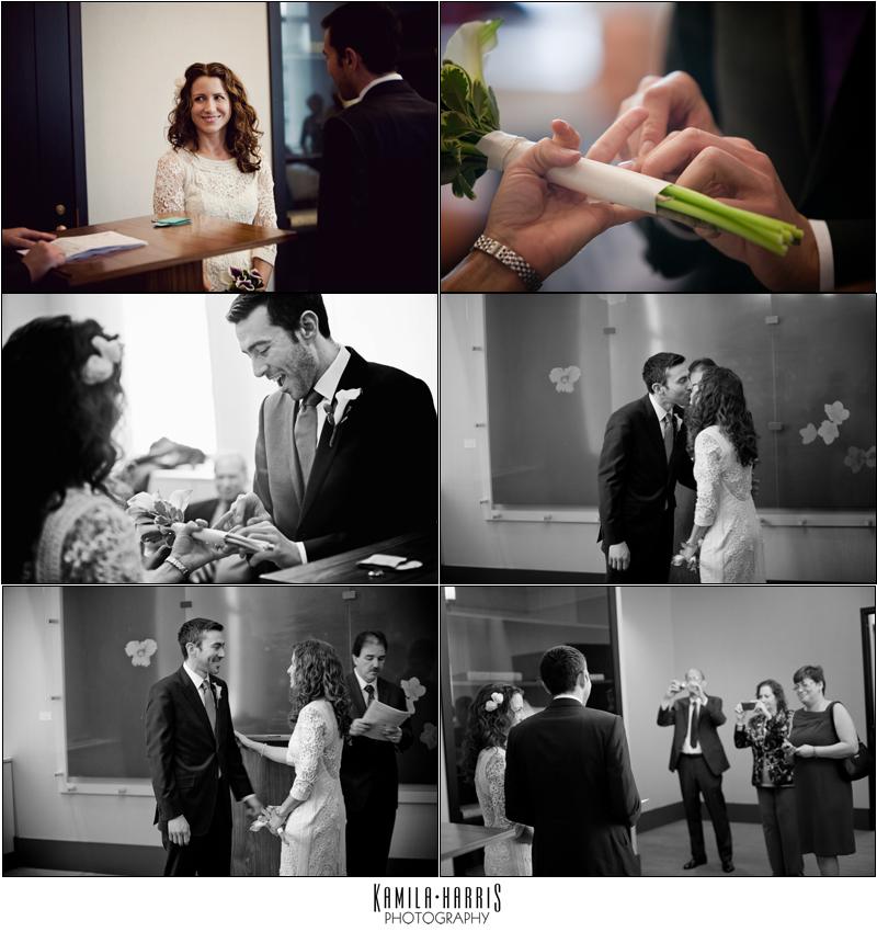 New York Wedding Photographer: City Hall Ceremony, Orsay