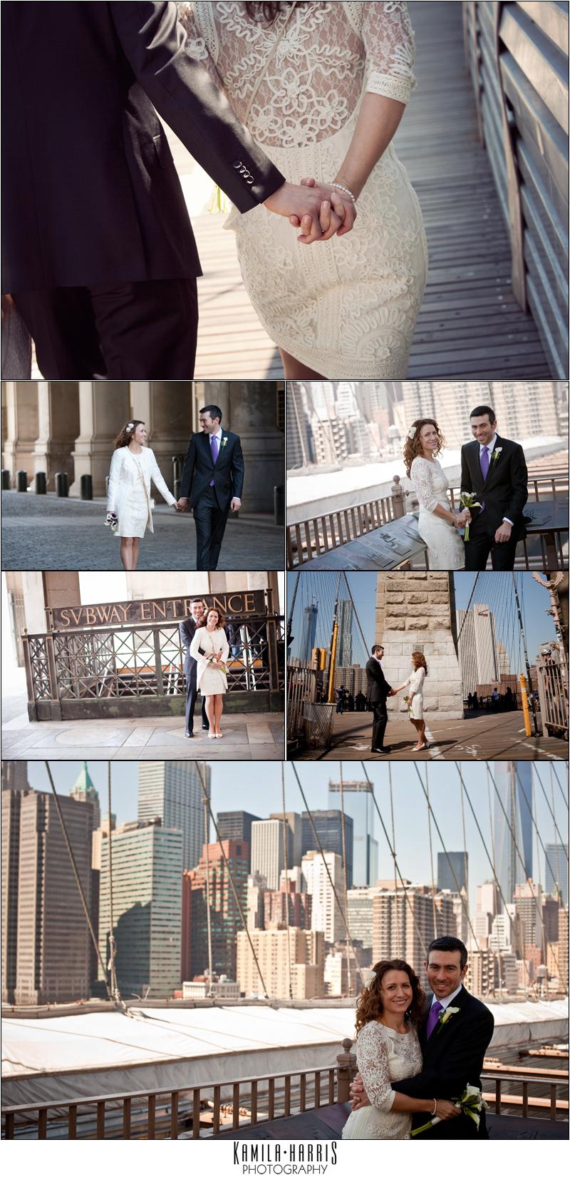 City Hall Wedding Manhattan NYC