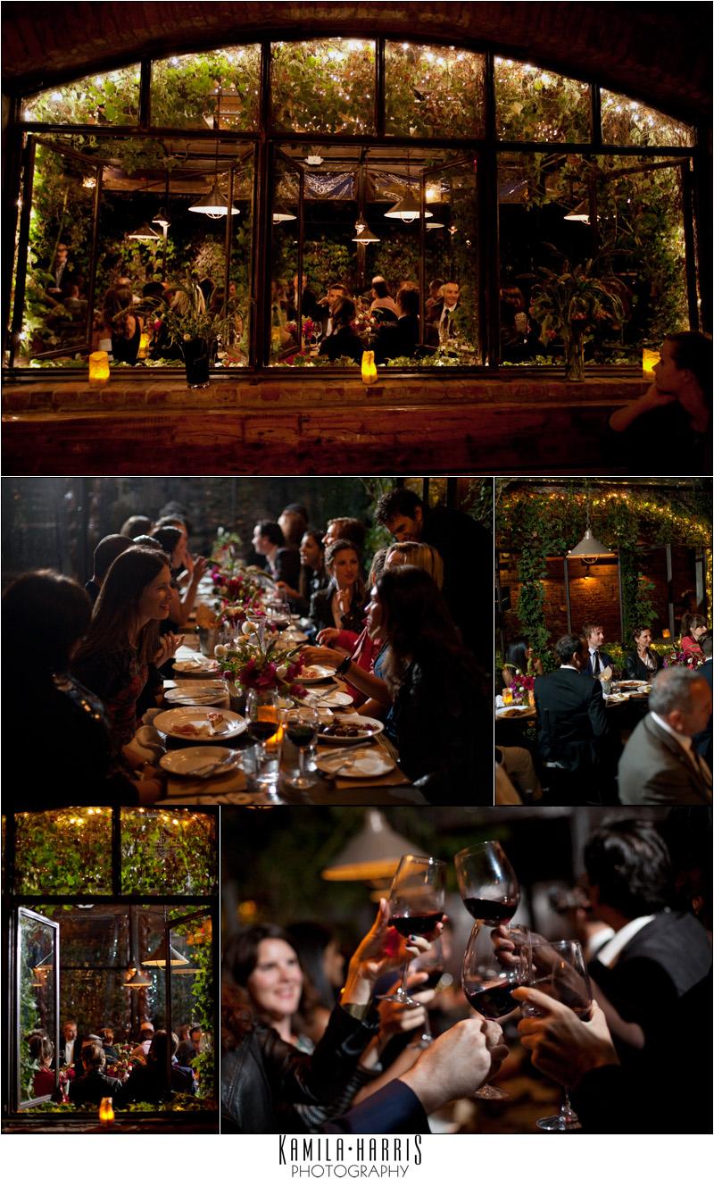 Brooklyn Wedding at Aurora Ristorante in Williamsburg, by Kamila Harris Photography