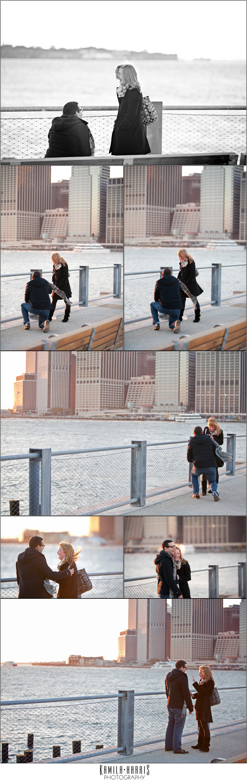 NYC Surprise Proposal Photography, Engagement Photography