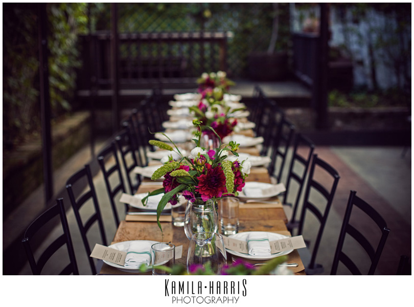 NYC Wedding Aurora Williamsburg Brooklyn Kamila Harris Photography as seen on Style Me Pretty