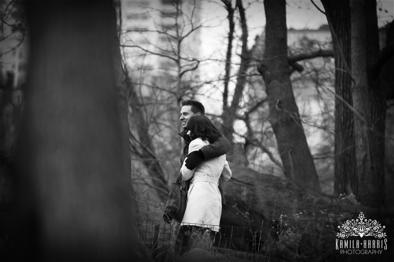 NYC Surprise Proposal and Engagement Photography by Kamila Harris Photography