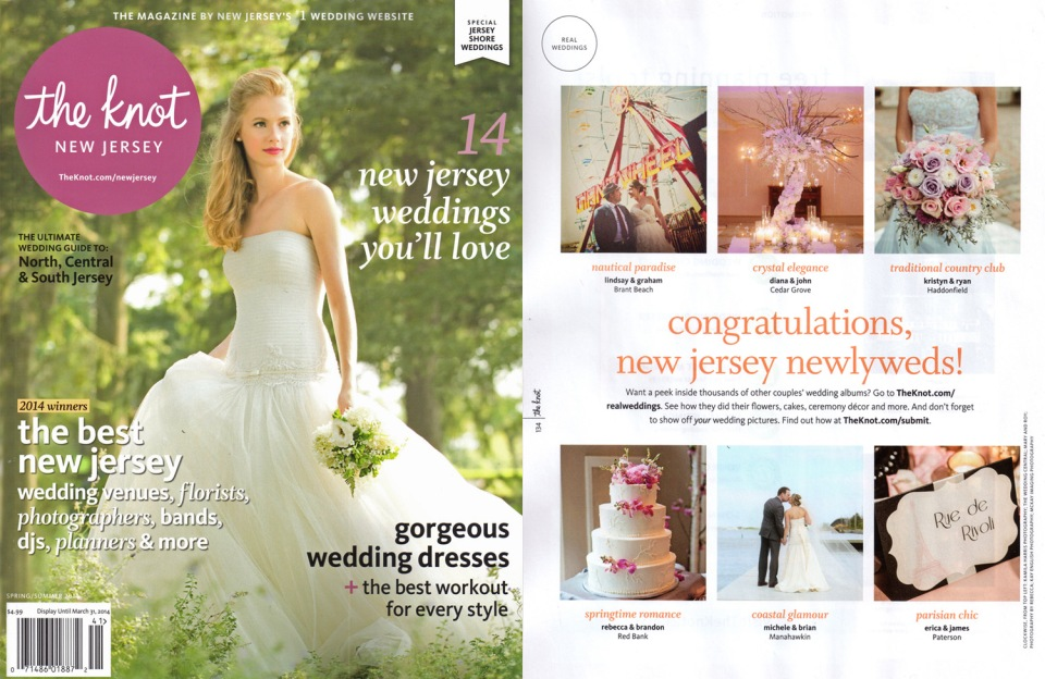 The Knot Magazine New Jersey New York Wedding Photographer Kamila Harris Photography