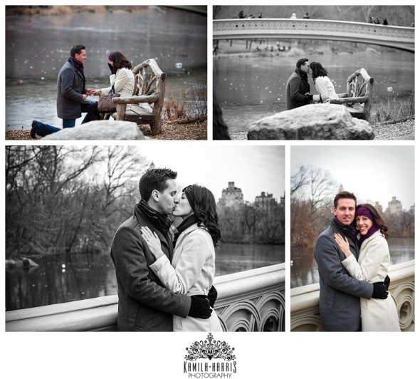 NYC Engagement Proposal Photography