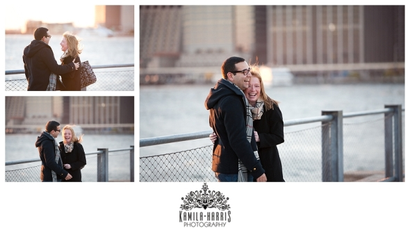 NYC Elopement Surprise Engagement Proposal Photography