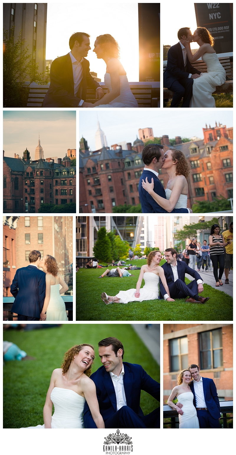 High Line NYC Wedding Photography