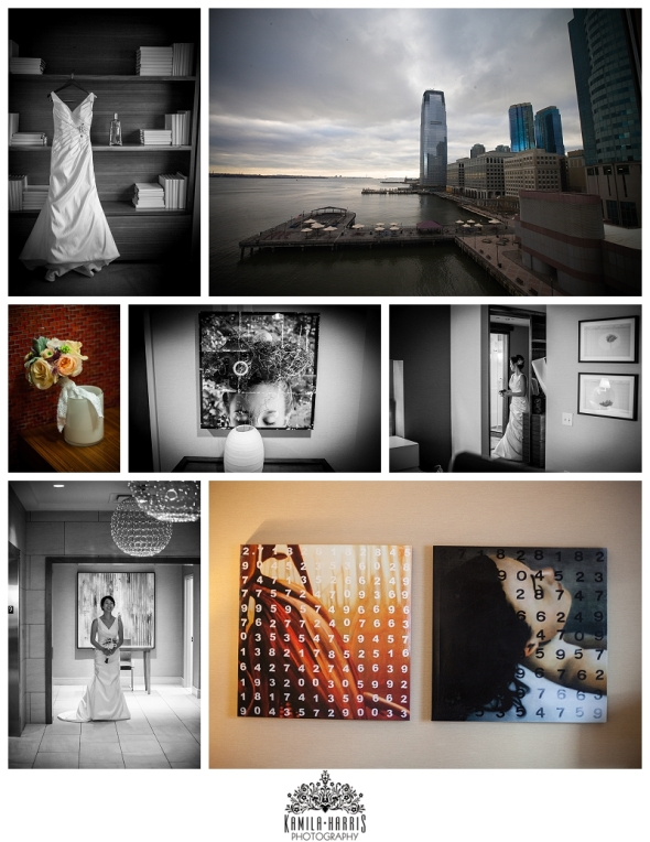 Hyatt Regency on the Hudson Wedding Bride New Jersey