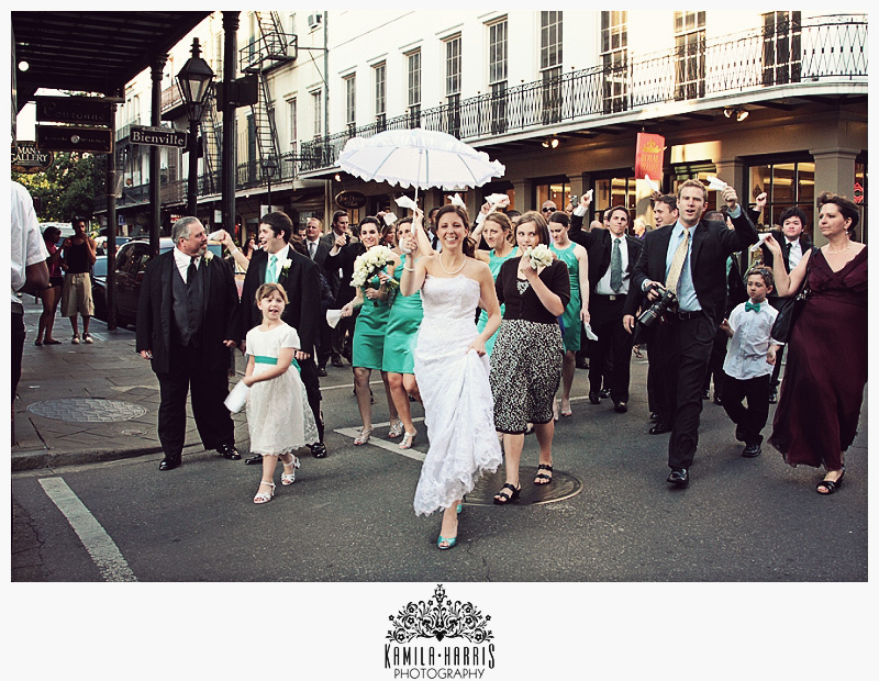 NOLA Second Line New Orleans Wedding Photography
