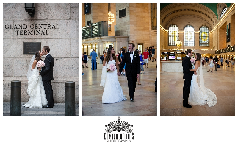 Grand Central Station Wedding Photography NYC Photographer