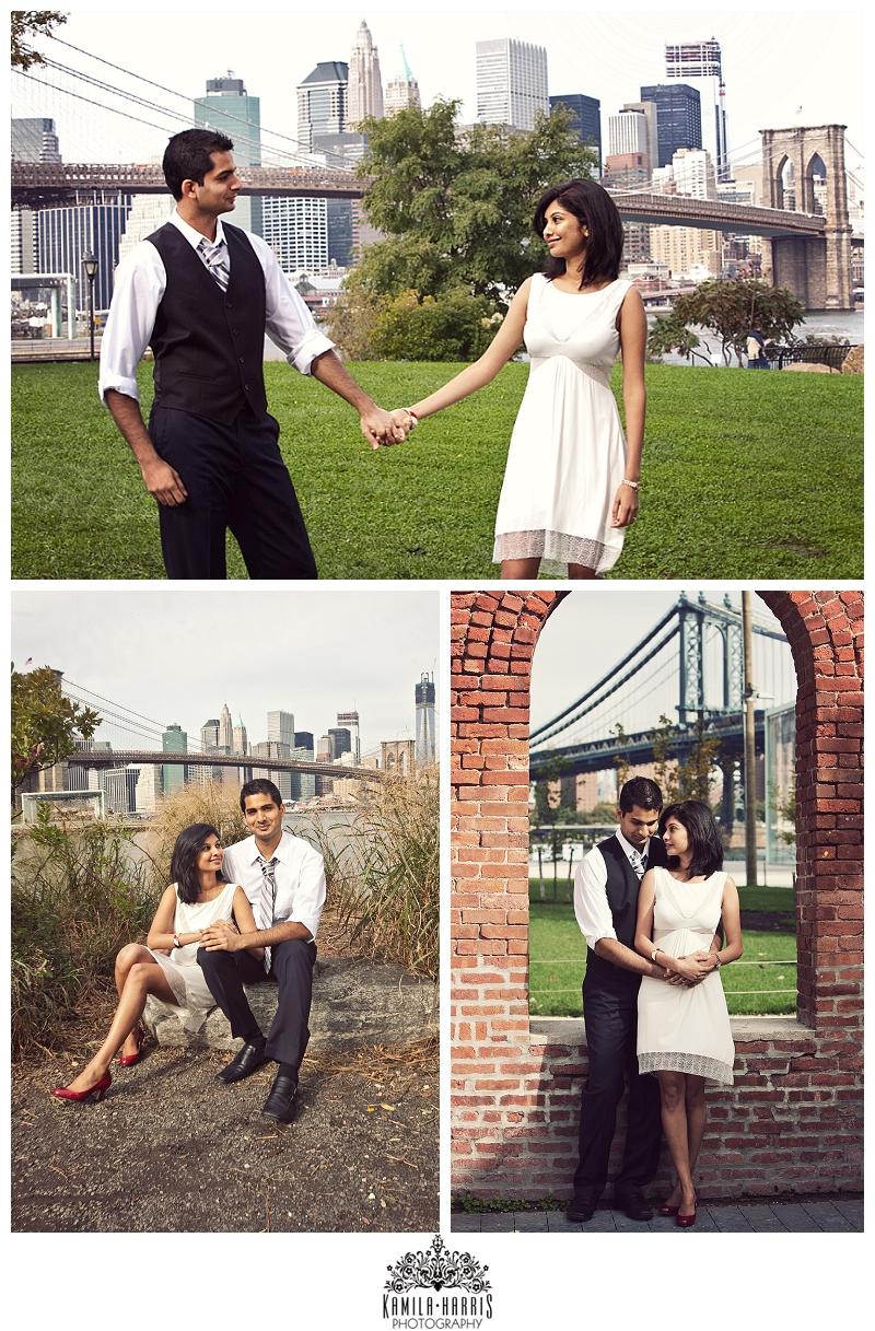 Brooklyn Bridge Park Wedding Photographer NYC