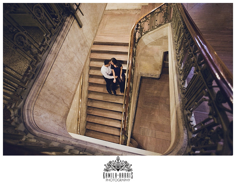 NYC Engagement Session Photographer Grand Central Station