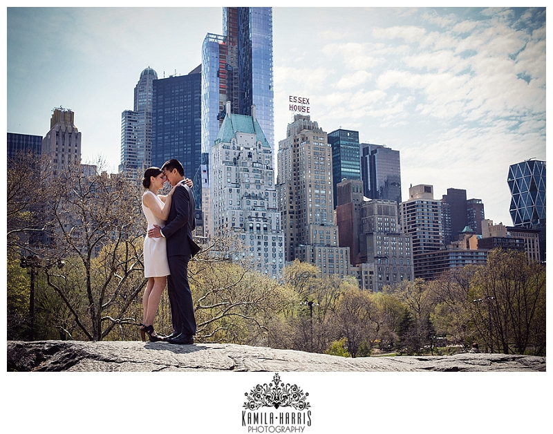 NYC, Elopement, Elope in NYC, City Hall, City Hall Wedding, City Hall Ceremony, Central Park, Spring, New York, Central Park Elopement, Elopement Photographer, NYC Photographer, NYC Wedding Photographer, NYC City Hall Photographer. Gapstow Bridge, Duck Pond,