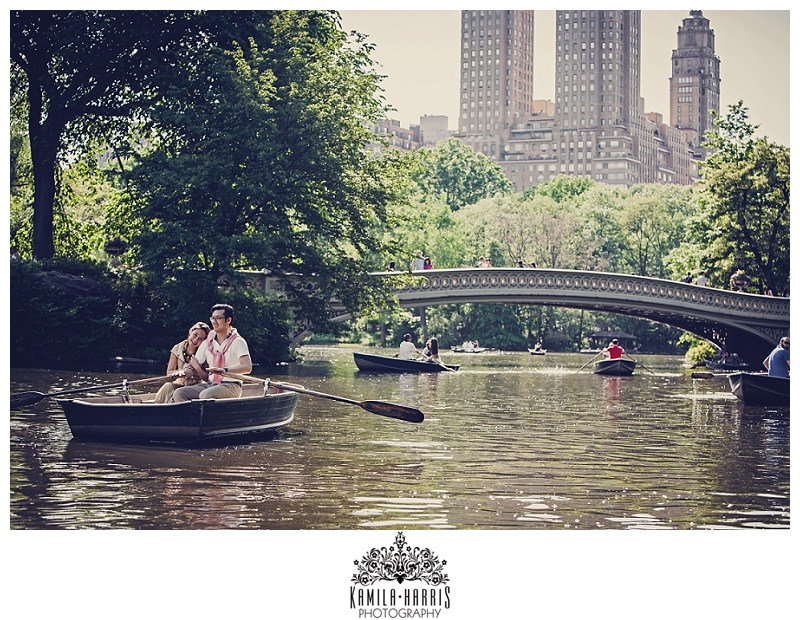 Columbia University, Central Park Boat House, Boat, Engagement Photo on a boat, Central Park Carriage Ride Engagement Session, NYC, NYC Engagement, NY Engagement, Engagement Session, Engagement Photographer