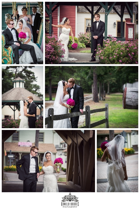 Smithville Inn Wedding, NJ Wedding, Bride, Groom, Smithville, NJ, Pink, Flowers,