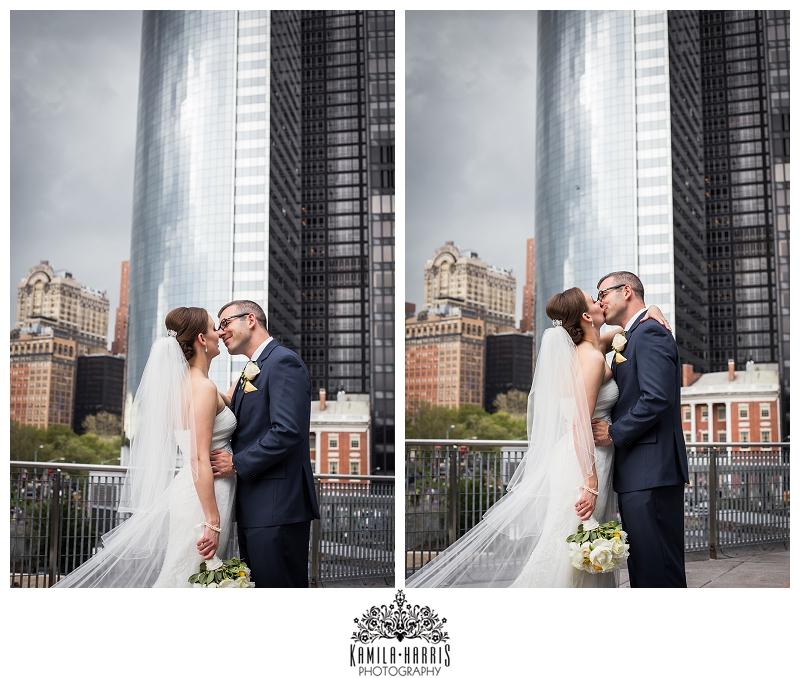 New York Wedding Photographer: Staten Island Ferry Ceremony