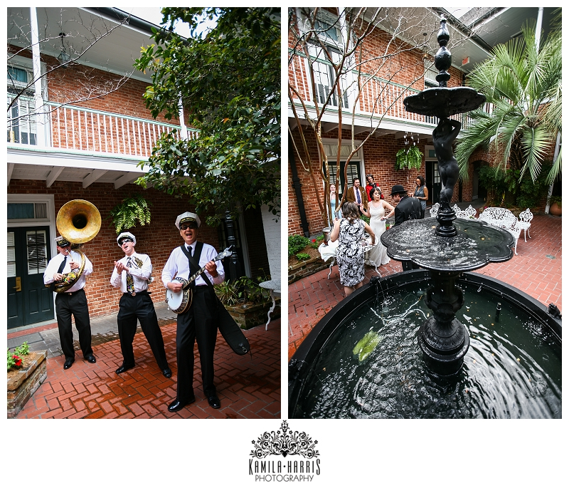 New Orleans Wedding Ideas: Throwback Thursday! New Orleans French Quarter Wedding At