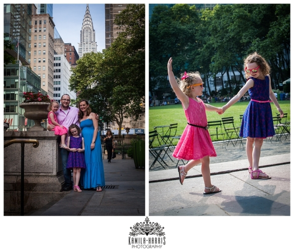 NYC, Family, Family Photographer, Sutton, Queensboro Bridge, UES, New York, Family Picture, Family Photo, Bryant Park, Carousel