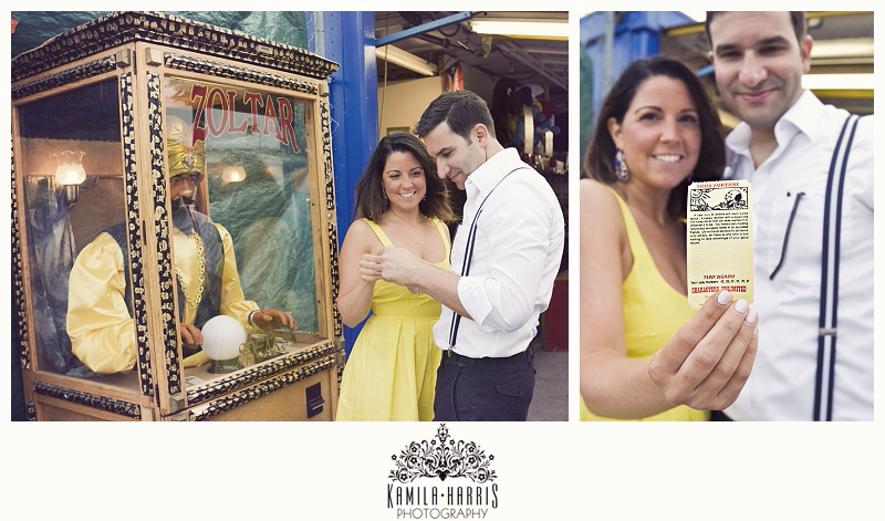 Coney Island; Wonder Wheel; Engagement; NYC; New York; Brooklyn; Amusement Park; Engagement Session; Engagement Pictures; Engagement Photography; Engagement Photographer