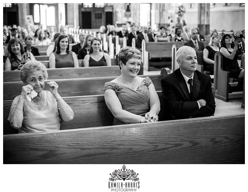 Wedding, Church, Church Ceremony, Atlantic City, St Nicholas, St Nicholas of Tolentine, NJ, NJ Wedding, Atlantic City Wedding, Emotional Ceremony Photos