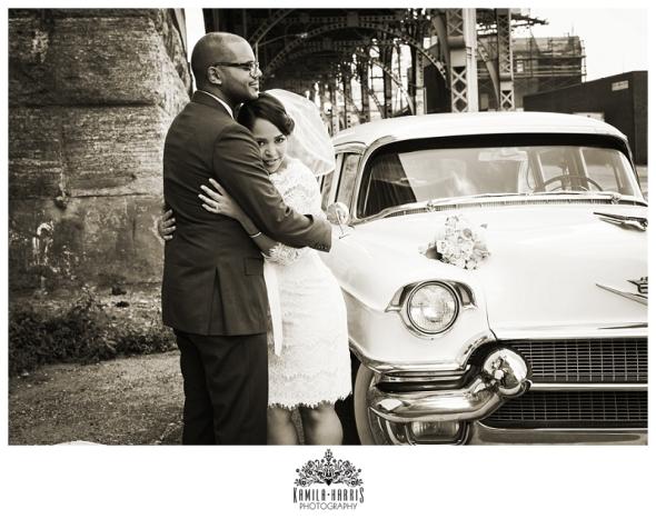 Covo Trattoria, Harlem, Rustic, Tuscan, Classic Car, 1956, Cadillac, Wedding, NYC, Manhattan, NY, Wedding Photographer