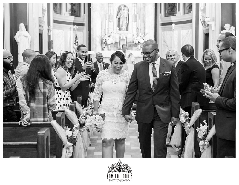 Manhattan, Our Lady of Esperanza Church, Wedding, Bride, Harlem, NYC, NY