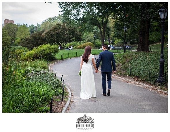 NYC Elopement Central Park City Hall