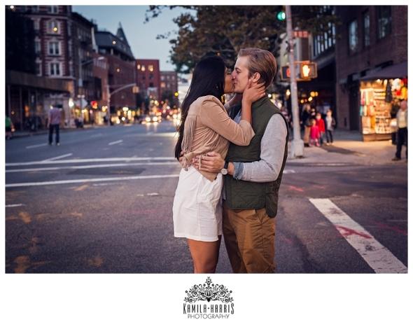 NYC West Village Manhattan Couples Photo Shot Kamila Harris Photography