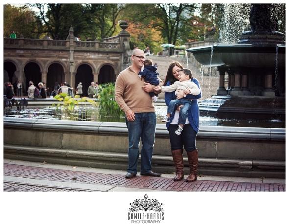 NYC Central Park Family Photo