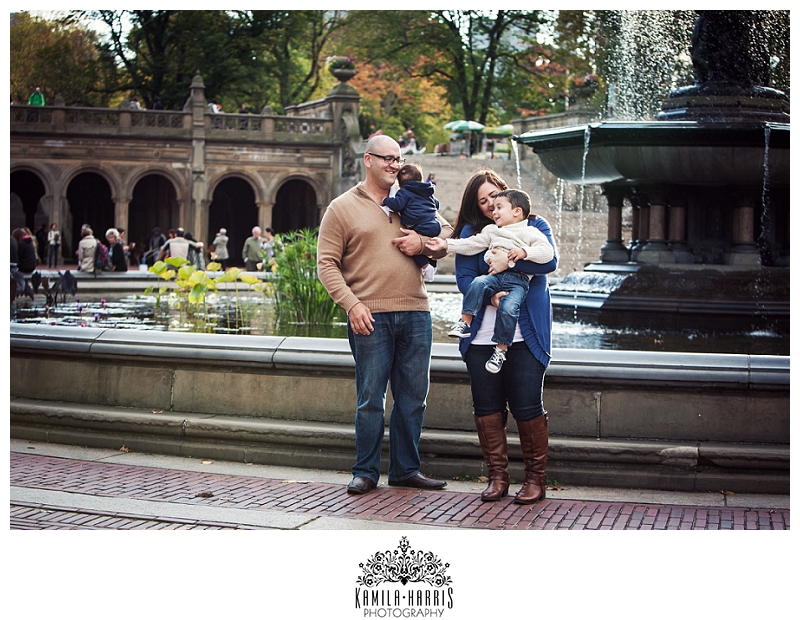 NYC Central Park Family Photo