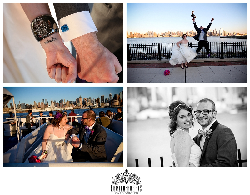 Chart House Weehawken Wedding NJ NYC