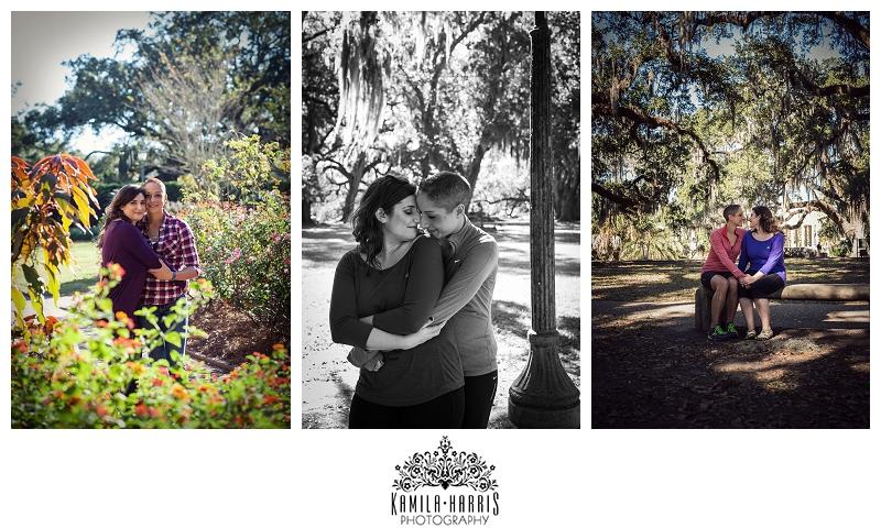 New Orleans Engagement Photography, City Park, Live Oak, Lake Pontchatrain, Engagement, Engaged, New Orleans, NOLA, same sex, two brides