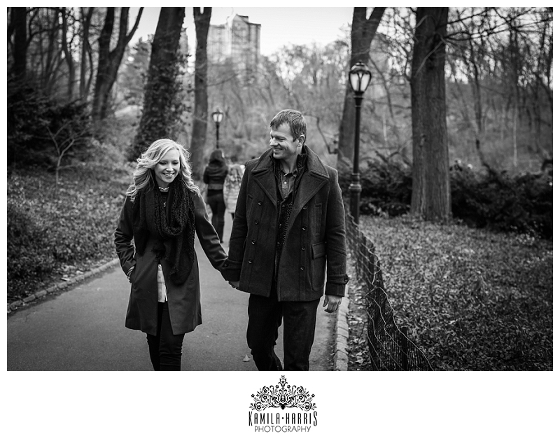 Central Park New York City Couples Photo Shoot Visiting NYC
