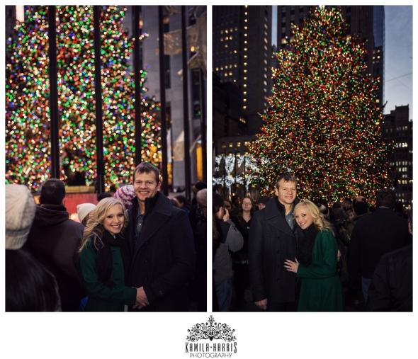 Rockefeller Center NYC Tree