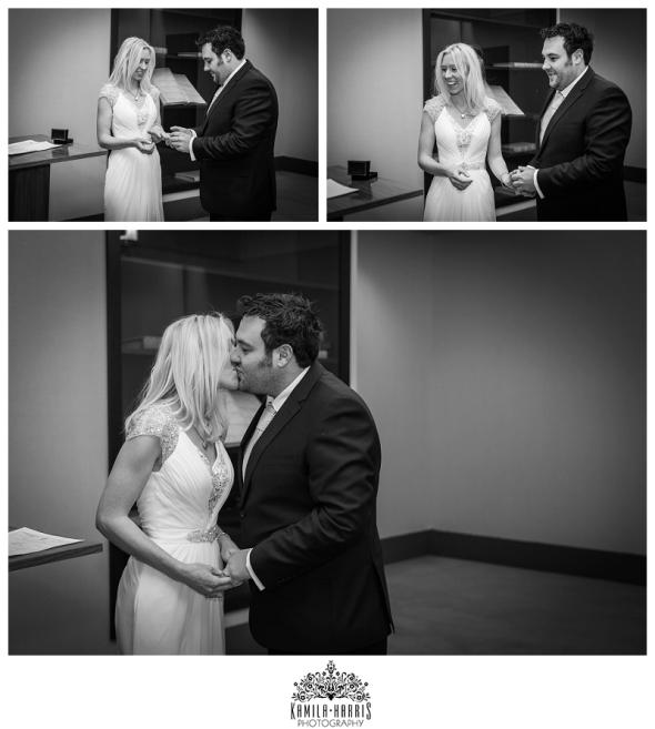 NYC Manhattan City Hall Wedding Ceremony Photographer
