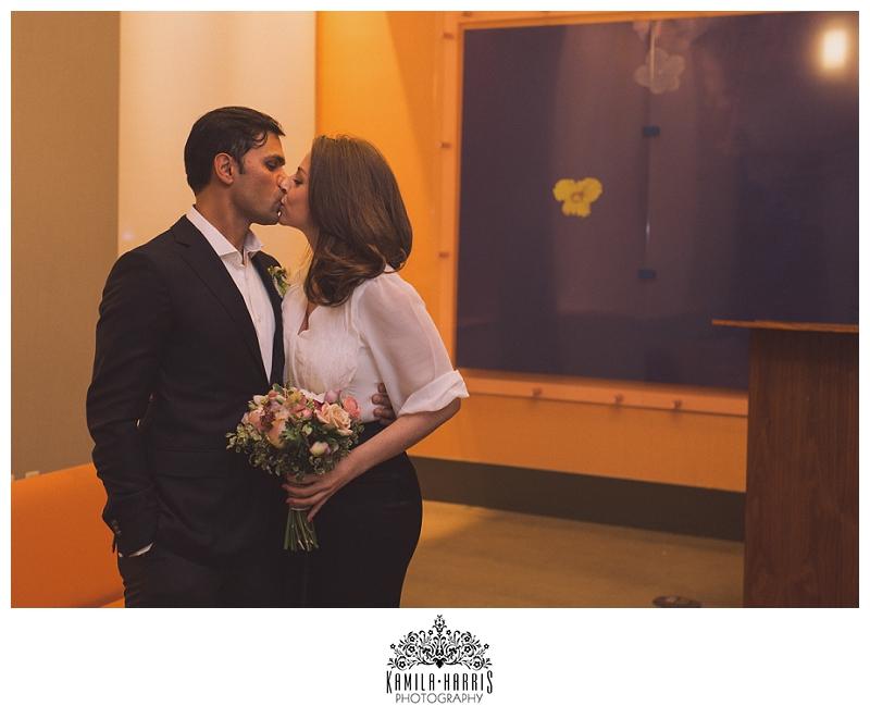 City Hall; City Hall Wedding Photographer; Manhattan; NY; NY City Hall Wedding; NYC; NYC Wedding Photographer; New York; New York Wedding Photographer; Winter; winter bride; winter wedding