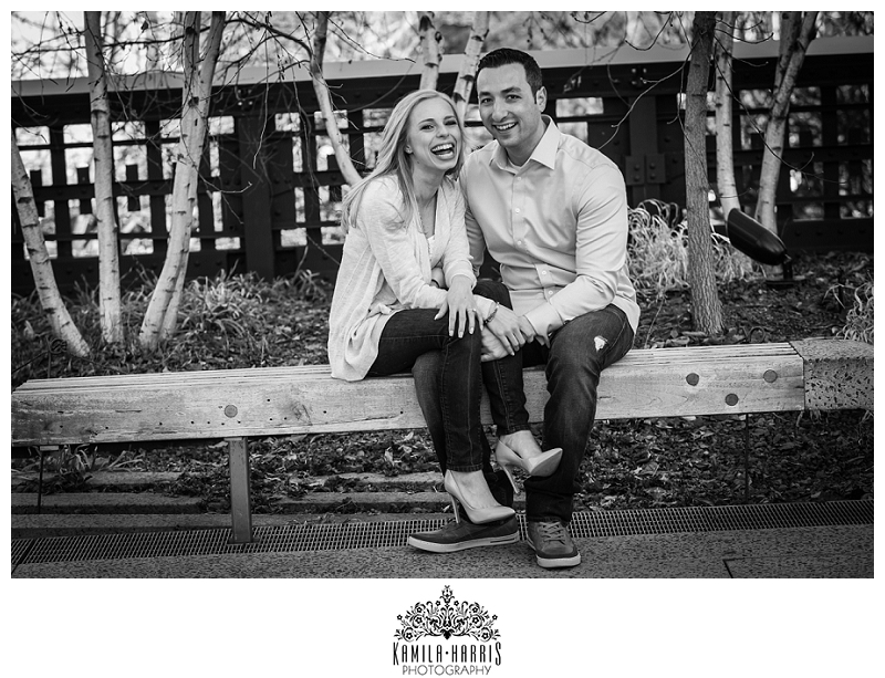 High Line Park, Brooklyn Bridge Park, NYC, Manhattan, Brooklyn, Engagement Session, Photographer, Kamila Harris