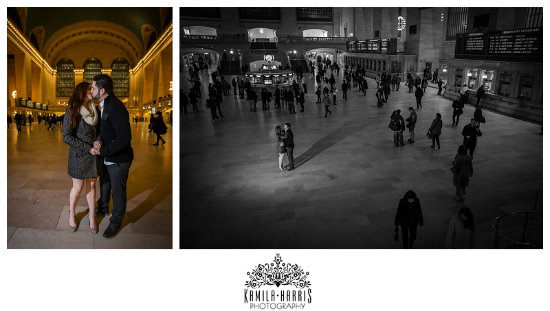 New York City Proposal Photography, St Patrick's Cathedral, Atlas, Rockefeller Center, Engaged, Engagement, Grand Central, Chrysler Building