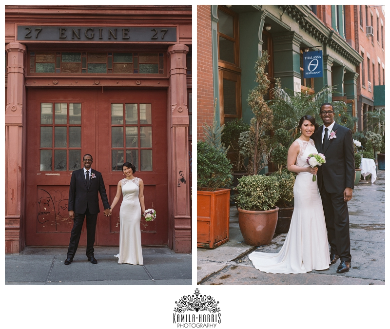 Tribeca, Wedding, NYC, Bride, Groom, Love, Thalassa, NYC, NY