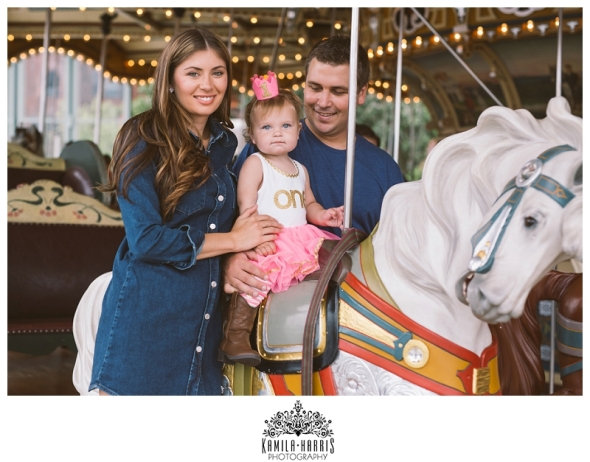 First Birthday Party at Jane's Carousel DUMBO Brooklyn NYC