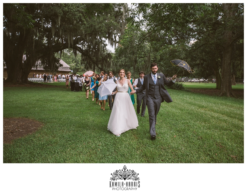 New Orleans Wedding Photographer, Destrehan Plantation, Destrehan Plantation Wedding, Louisiana Wedding, Live Oaks, Barn Wedding, Second Line, Brass Band, Poppy and Mint, GlamNola, Allure Gown,