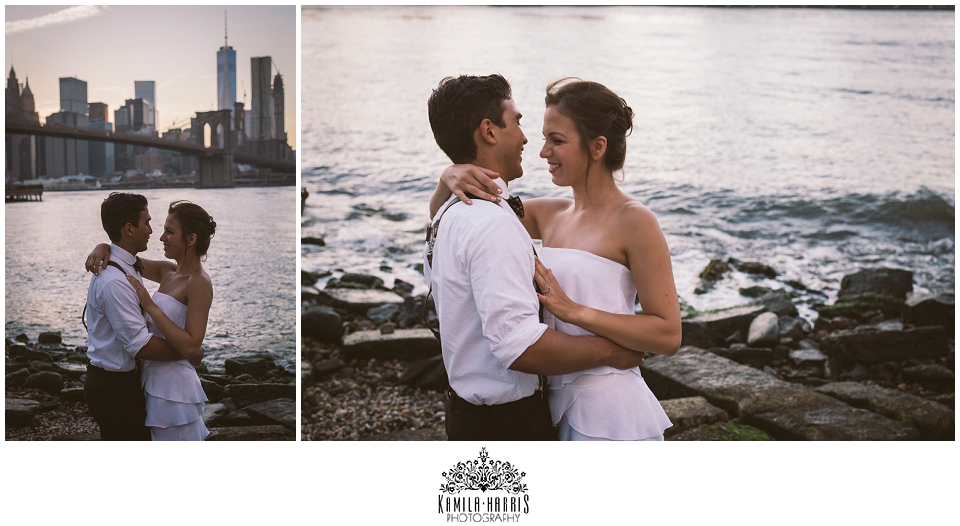 DUMBO Creative Couples Session, After Wedding Session, Trash the Dress Session, Wedding, Photographer, Couples Photography