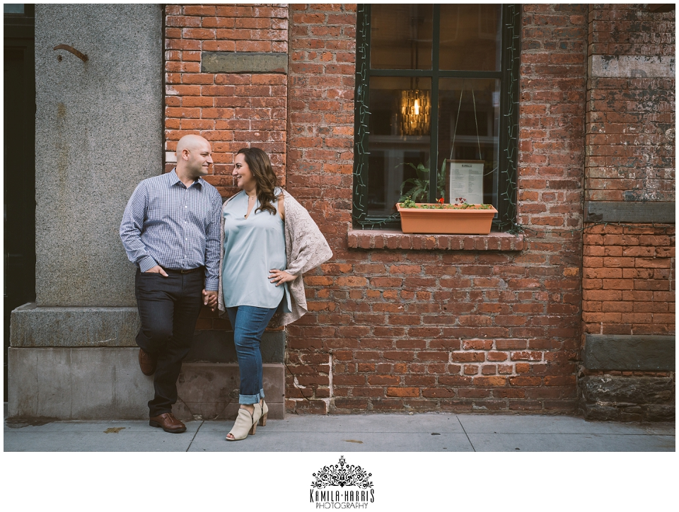 South Street Seaport, Manhattan, NY, NYC, Engagement Session, NY Engagement Photographer