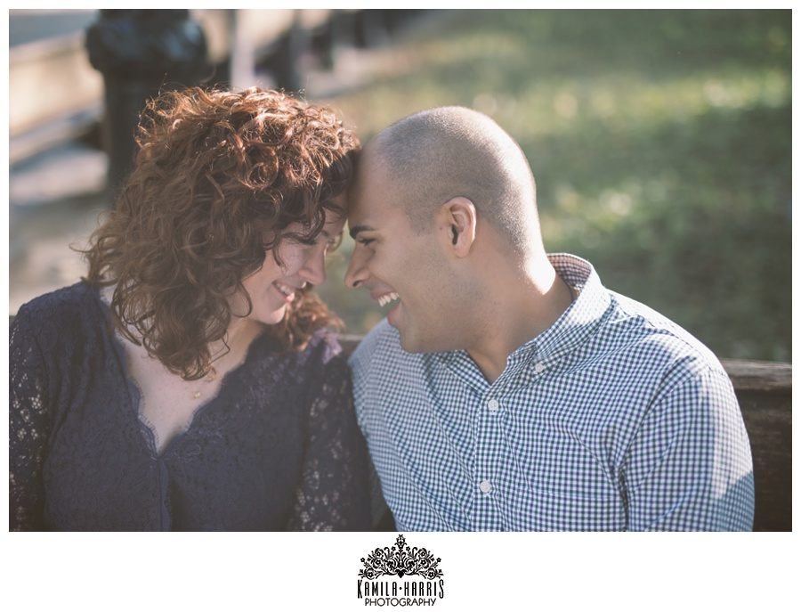 New York City Engagement Session, Central Park, Bethesda Fountain, The Mall, Literary Walk, Manhattan, Fall