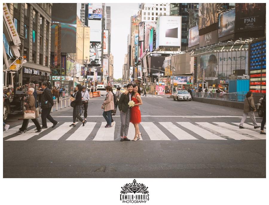 Same Sex Wedding, Two Brides, Lesbian Wedding, Gay Wedding, Gay, NYC, New York, New York Wedding, NYC Same Sex Wedding, Marriage Equality, New York City, City Hall Wedding, Brooklyn Bridge, Times Square, Matching Tattoos, Subway photos, Tattoo