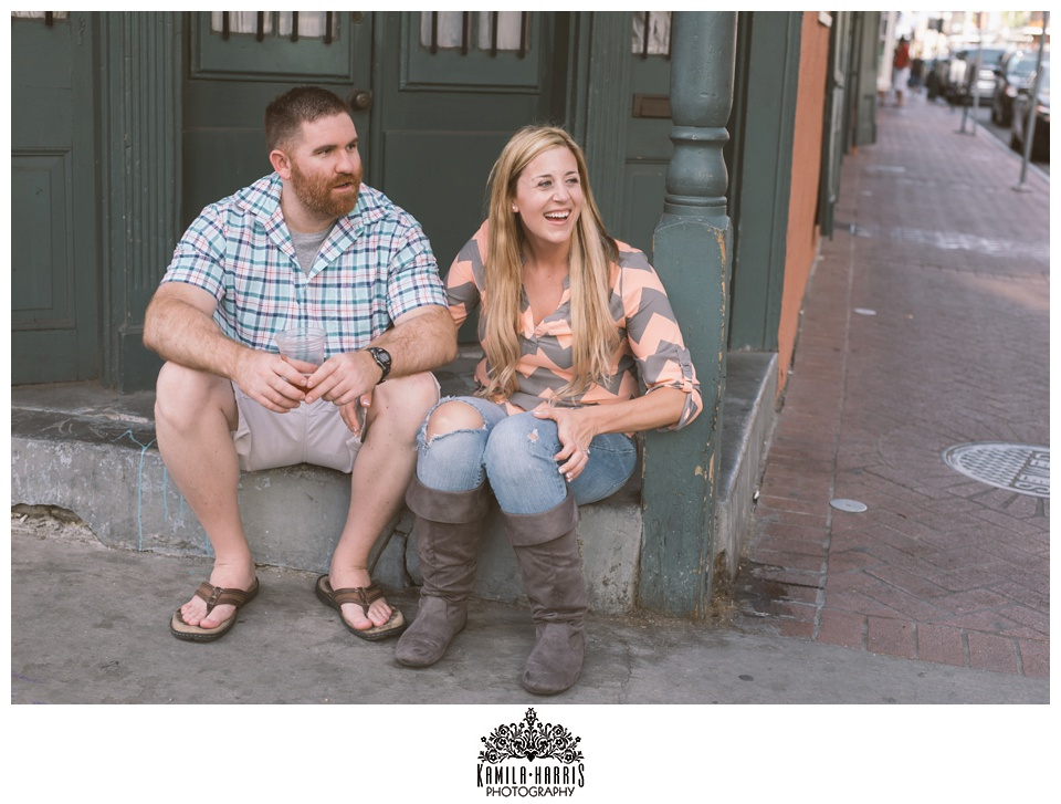 New Orleans French Quarter Engagement Session