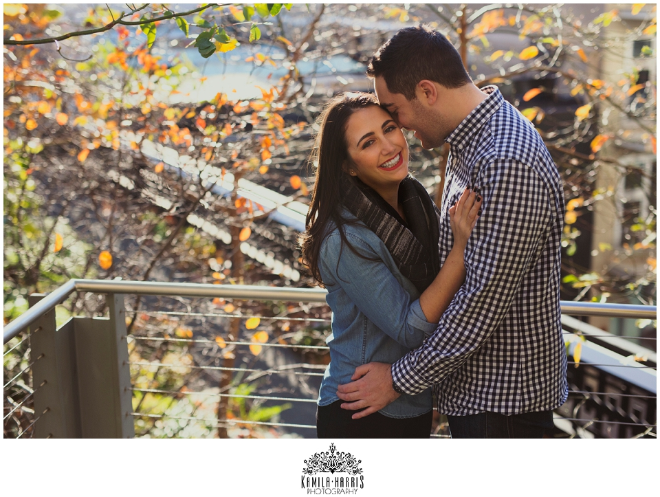 High Line and Brooklyn Bridge Park Engagement Session, NYC, Engagement Photos, Engaged, Getting Married,