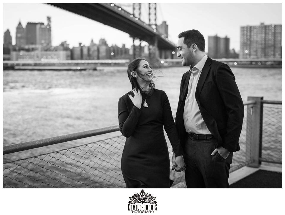 High Line and Brooklyn Bridge Park Engagement Session, NYC, Engagement Photos, Engaged, Getting Married, v